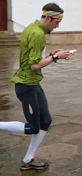 Tuomas sprinttisuunnsitaa
